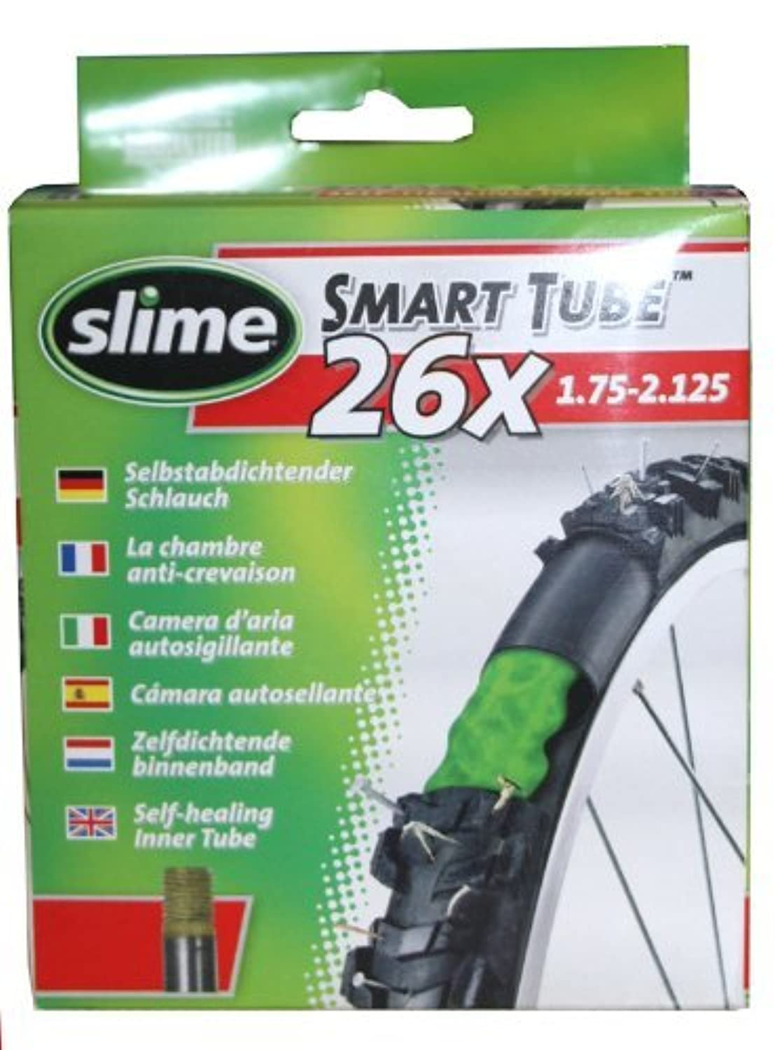 Slime Inner Tube 26 in。pre-filled with Tire Sealant