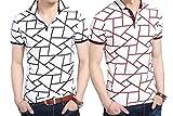 ラコステ ポロシャツ 長袖 (Make 2 Be) メンズ ポロシャツ柄 半袖 カジュアル シャツ ゴルフ ウェア MF46