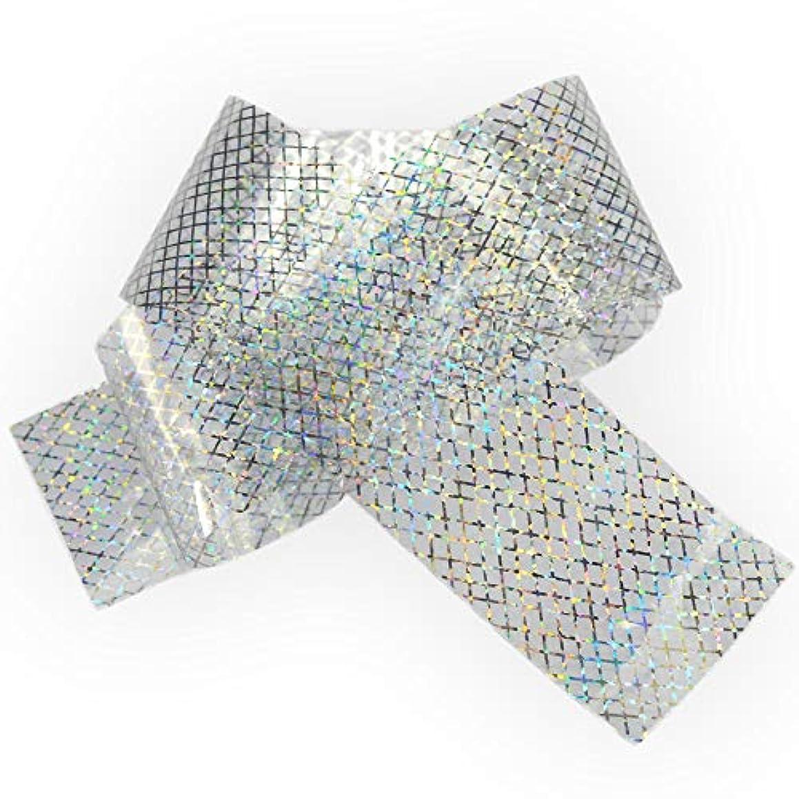 表面キャプション慣らす100x4cmホログラフィック星空ネイル箔レーザーラインネイルアート転送ステッカーシャイニーネイルジュエリーアクセサリー