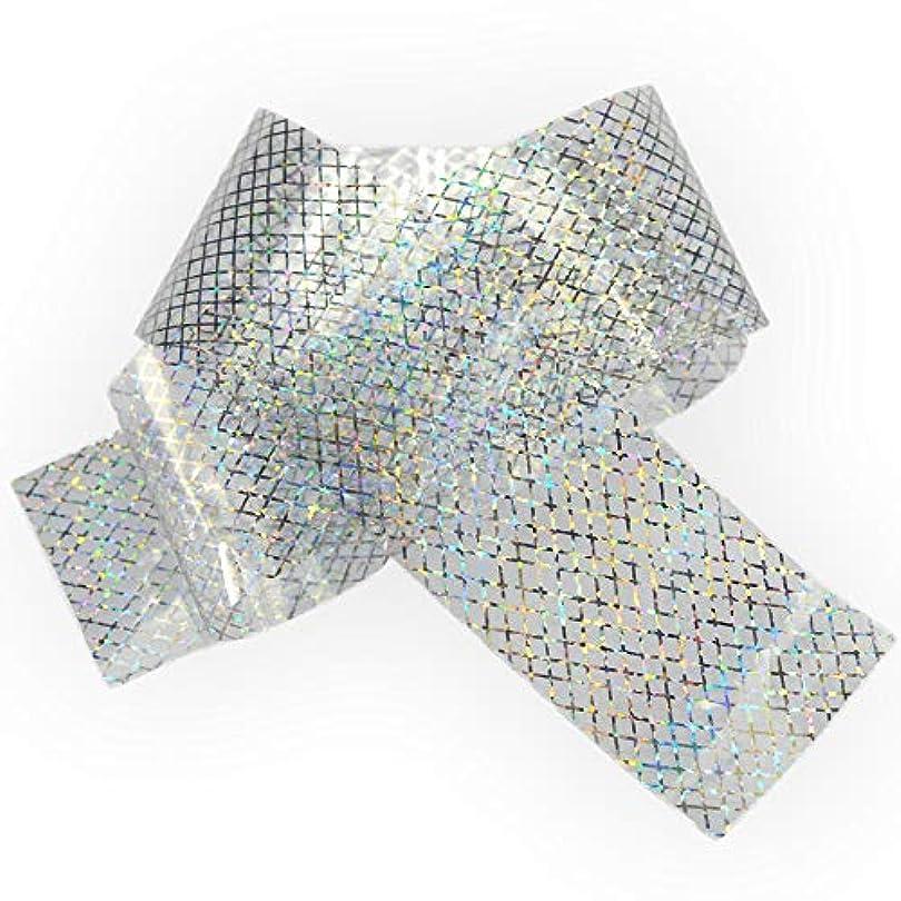 角度オアシス売り手100x4cmホログラフィック星空ネイル箔レーザーラインネイルアート転送ステッカーシャイニーネイルジュエリーアクセサリー