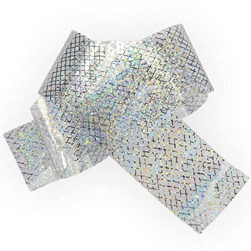 100x4cmホログラフィック星空ネイル箔レーザーラインネイルアート転送ステッカーシャイニーネイルジュエリーアクセサリー