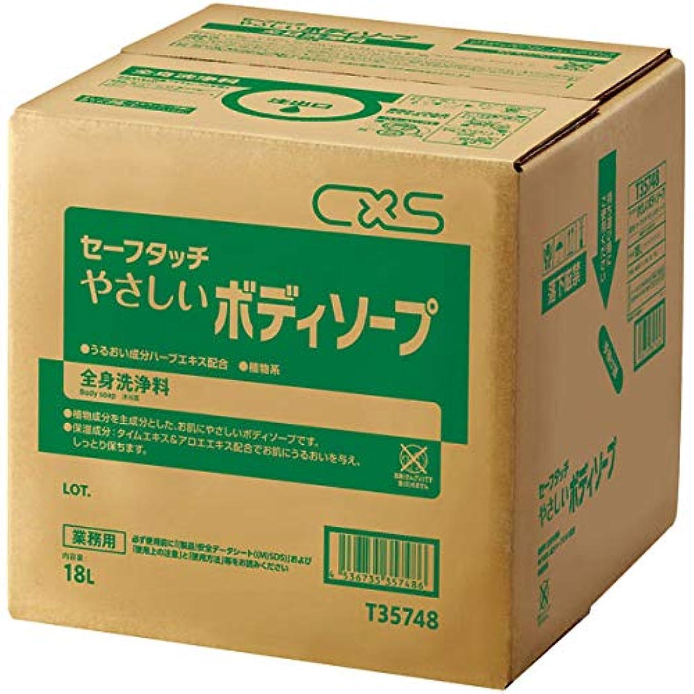 取得するソーセージオークランドシーバイエス 全身洗浄料セーフタッチやさしいボディソープ 18L (T35748) 1個