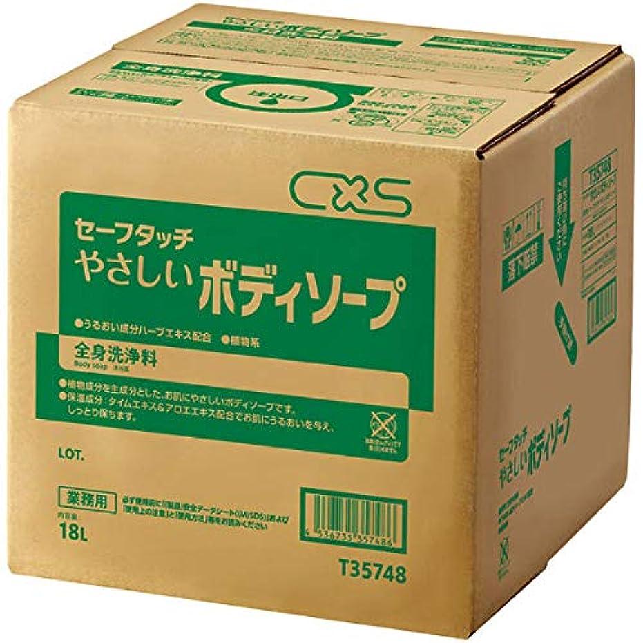 試すインフラ理容室シーバイエス 全身洗浄料セーフタッチやさしいボディソープ 18L (T35748) 1個