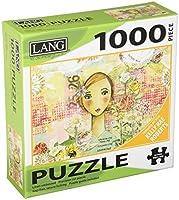 "Lang Joyful Girlジグソーパズル( 1000ピース、29x 20"""
