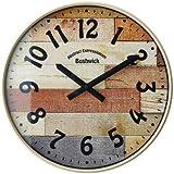 インターフォルム(INTERFORM INC.) 電波掛け時計 Bushwick -ブッシュウィック- IV アイボリー CL-9361IV