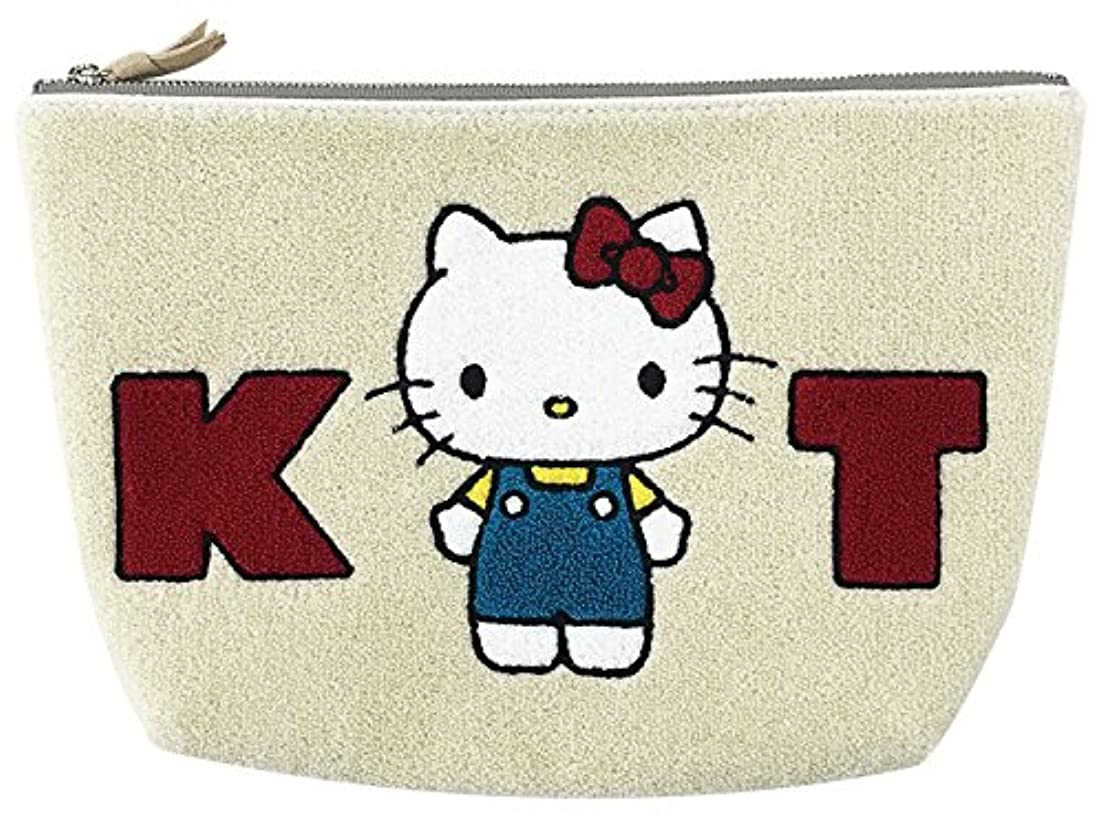 おしゃれじゃないグレートオークパネル[アルディ] 【HELLO KITTY】HKP4-4 サガラポーチ HKP ポーチ