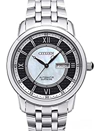 ブラック NJ0080-50E 自動巻き シチズン CITIZEN 腕時計 メンズ