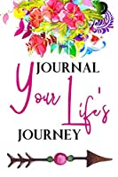 Journal Your Life's Journey: Grunge Black, Lined