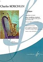 ケックラン : 7つの小品 作品180 (サクソフォン、ピアノ) ビヨドー出版