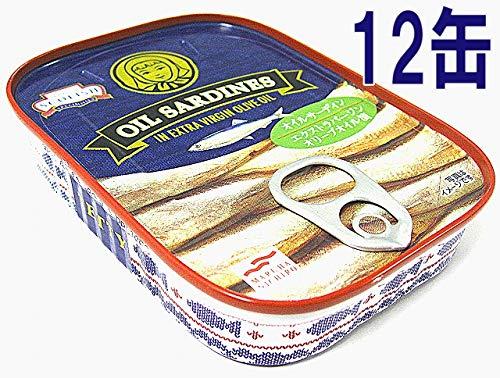 オイルサーデン エクストラバージンオリーブオイル漬け 12缶 マルハニチロ オリーブオイル いわし イワシ サーデン 缶詰 缶詰め 高級 オリーブオイル漬け オイルサーディン エキストラバージンオリーブオイル 英国製 高級品
