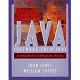 Java Software Solutions Pb: Foundations of Program Design
