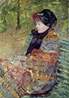 "壁アート印刷entitled Mary Cassatt, 1844 – 1926、Portrait of Mlle C。Lyd by天体イメージ 34"" x 48"" 5556213_5_0"