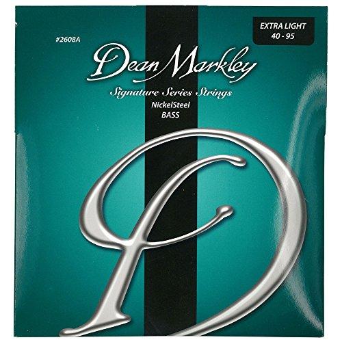 Dean Markley  ベース弦 ニッケル Nickel Steel Bass Signature Series 2608A Extra Light 4 String .040-.95