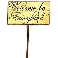 Largemouth 妖精の庭の兆し(おとぎの国を歓迎します)