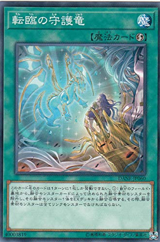 遊戯王 DANE-JP060 転臨の守護竜 (日本語版 ノーマル) ダーク・ネオストーム