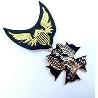 エンブレムミリタリーワッペン風ピンバッジ 勲章徽章風イーグル WP-93【勲章バッジ,徽章,バッチ】『2014年4月』