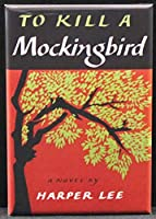 To Kill a Mockingbirdブックカバー冷蔵庫マグネット。