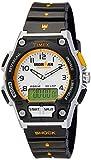 腕時計 アイアンマン トライアスロン 30ラップ コンボ ウレタンストラップ T5K200 フルサイズ メンズ タイメックス画像①