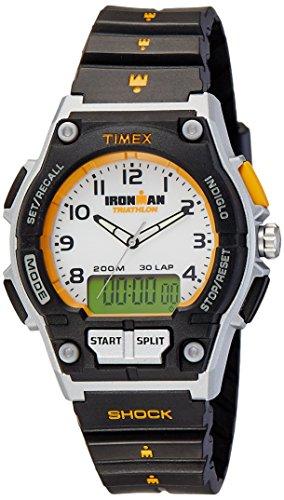 腕時計 アイアンマン トライアスロン 30ラップ コンボ ウレタンストラップ T5K200 フルサイズ メンズ タイメックス