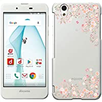 「Breeze-正規品」iPhone ・ スマホケース ポリカーボネイト [透明-Pink] アクオス エバー 【AQUOS EVER SH-02J / AQUOS U SHV37/ AQUOS SH-M04/-A/UQ mobile AQUOS L2/L】 ハードケース [SH-02J/SHV37/SH-M04/SH-M04-A/AQUOS L2/L]