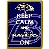 NFL Baltimore Ravens Keep Calm Sign