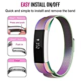 Best fitbit Androidの腕時計 - Smart Watches MM & imilanese磁気tainless Steel Watchバンド手首ストラップfor Fitbit Review