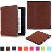 ケースfor Kindle Oasis , Siniaoスマート超スリム磁気ケースカバー M レッド JWH-0027