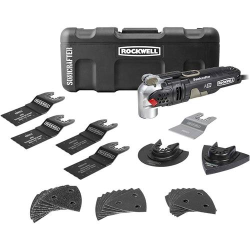 Rockwell RK5141K 4.0A Sonicrafter F50 Kit with Hyper Lock and Universal Fit System, 34-Piece by Positec USA [並行輸入品]