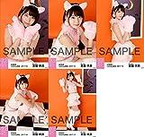 【宮脇咲良】 公式生写真 AKB48 2017年10月 個別 「特別ハロウィン」衣装 5種コンプ