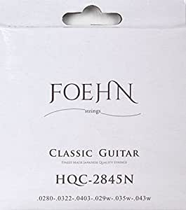 FOEHN HQC-2845N×3セット Classic Guitar Strings Normal Tension クラシックギター弦 ノーマルテンション