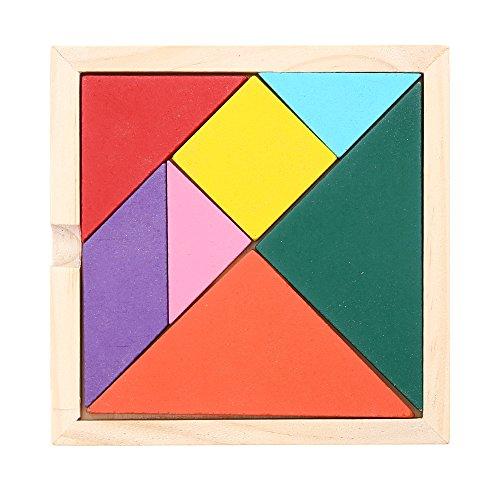 [해외]Decdeal 나무 7 조각 퍼즐 조기 교육 개발 장난감 선물 | 어린이/Decdeal Wooden 7 Piece Jigsaw Puzzle Early Education Development Toy Gifts | For Kids