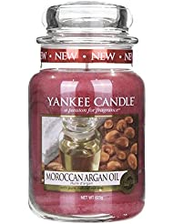 Yankee Candle MOROCCAN ARGAN OIL 22oz Large Jar Candle - UK Exclusive by Yankee Candle [並行輸入品]