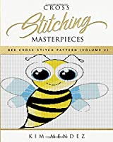 Cross Stitching Masterpieces: Bee Cross-Stitch Pattern