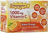 海外直送品 Alacer Emergen-C Alacer Emergen-C Super Orange, Super Orange 30 packets 1000 mg