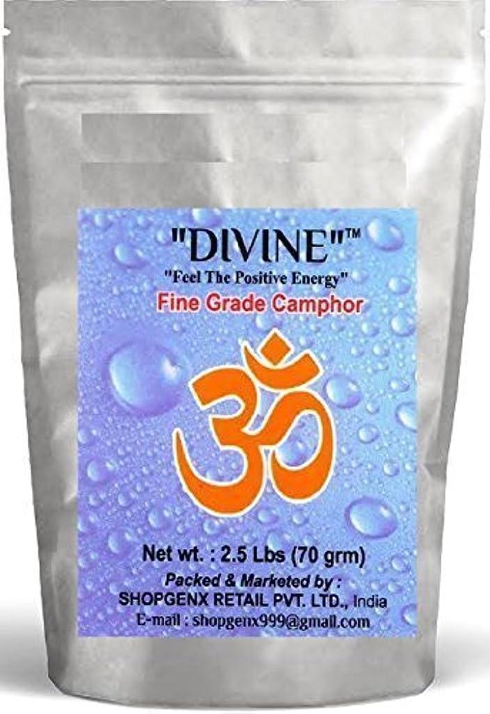 ジェスチャー奇跡的な火山Divine供養Pure 70 g Refined Camphor Flakes for Holy Spiritual Hindu供養Ganpati & Diwali Rituals