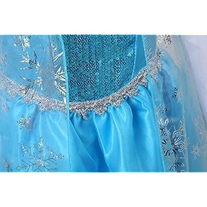484783e72261d アナと雪の女王 エルサ コスプレセット (ドレス・マント・ワンピース・ティアラ