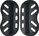 hit-air(無限電光) セパレート型胸部パッド ポリプロピレン(中空構造) ブラック W120xH220mm 4560216402983