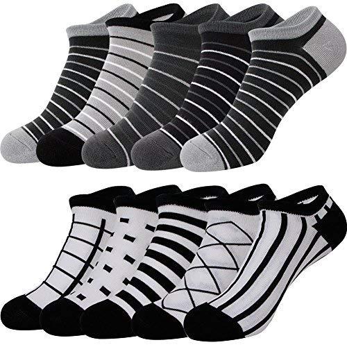 スニーカー ソックス ショート くるぶし 靴下 カジュアル ソックス 10足組 セット AYSKXL21-01