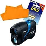 【セット】NIKON (ニコン) レーザー距離計 COOLSHOT 80i VR &シリコンクロス &予備用 CR電池