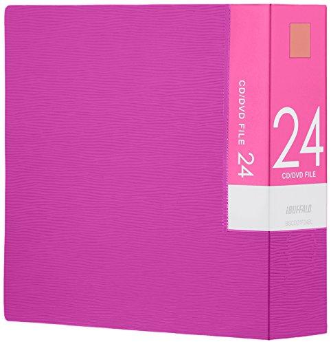 BUFFALO CD&DVDファイルケース ブックタイプ 2...