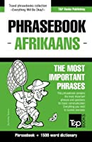 English-Afrikaans phrasebook and 1500-word dictionary