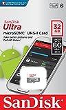 SanDisk microSDHC ULTRA 32GB 80MB/s SDSQUNS-032G Class10 サンディスク [並行輸入品] 画像