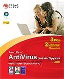 Trend Micro Antivirus plus AntiSpyware 2008 (2Jahre).
