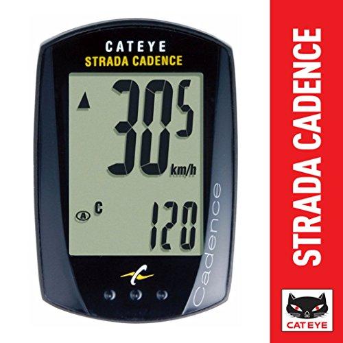 キャットアイ(CAT EYE) サイクルコンピュータ STRADA CADENCE CC-RD200 有線式