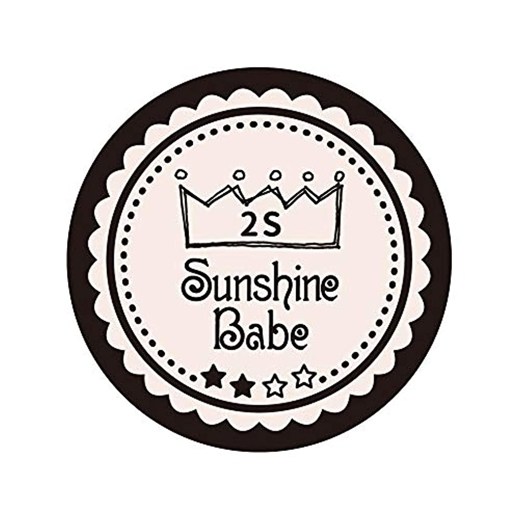 報いるガイダンス中にSunshine Babe カラージェル 2S オールモーストモーブ 2.7g UV/LED対応
