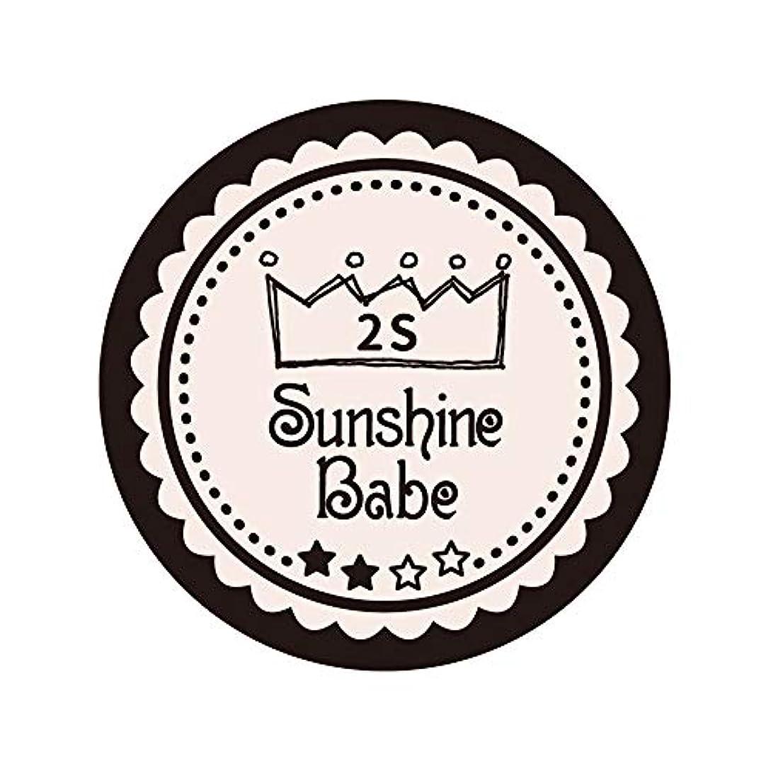 線解明するメロディアスSunshine Babe カラージェル 2S オールモーストモーブ 2.7g UV/LED対応