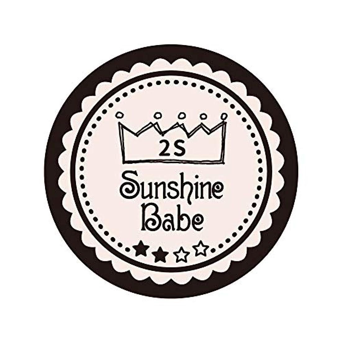 セットアップアンドリューハリディ占めるSunshine Babe カラージェル 2S オールモーストモーブ 2.7g UV/LED対応