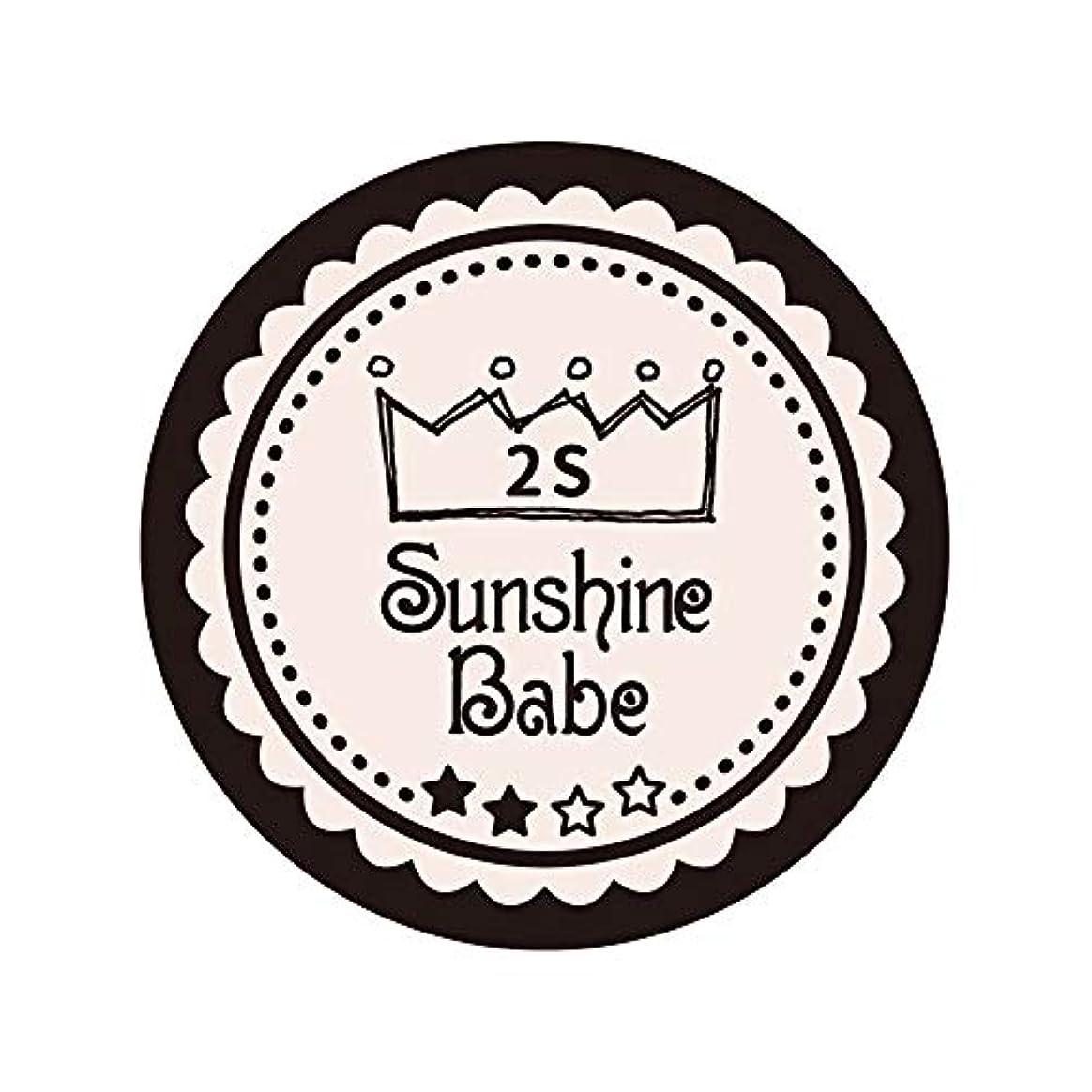 邪魔大脳野ウサギSunshine Babe カラージェル 2S オールモーストモーブ 2.7g UV/LED対応