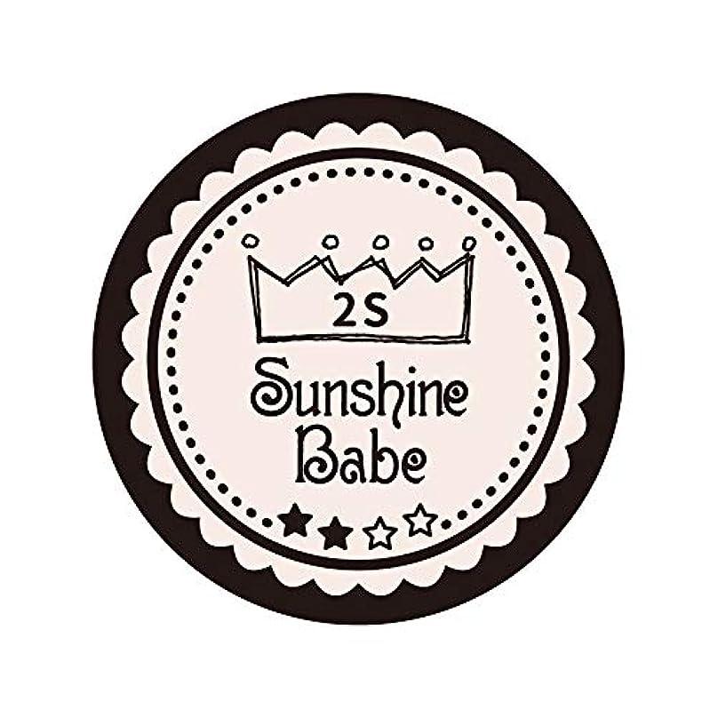 劇場庭園参加するSunshine Babe カラージェル 2S オールモーストモーブ 2.7g UV/LED対応