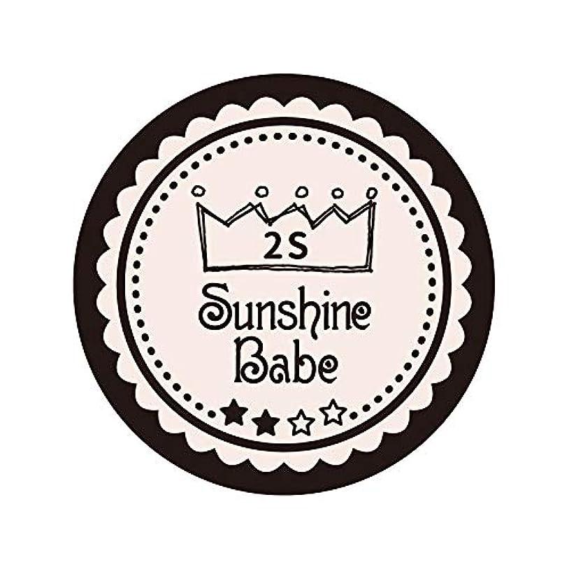 フォアタイプ崇拝します落ち込んでいるSunshine Babe カラージェル 2S オールモーストモーブ 2.7g UV/LED対応